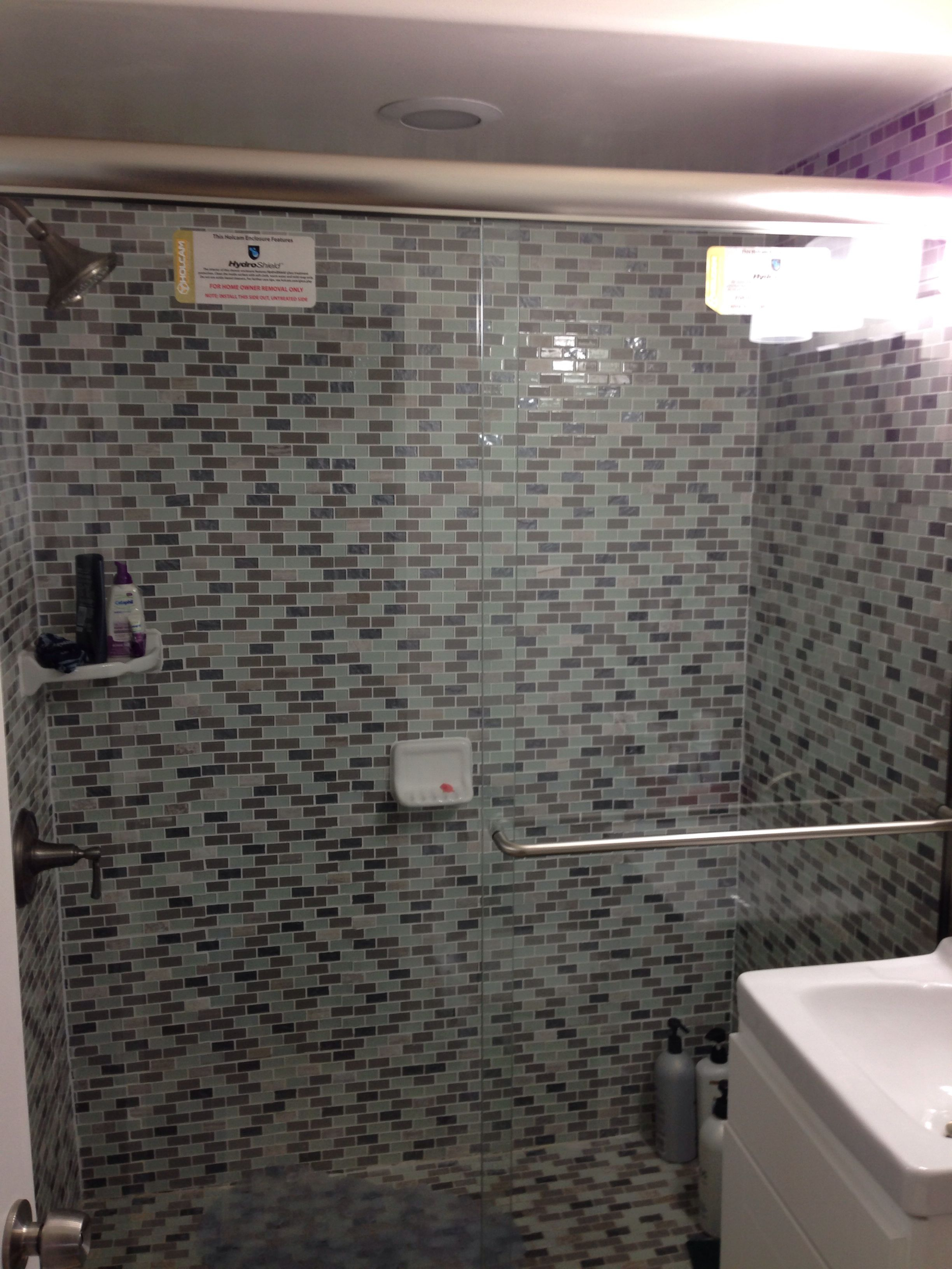 Holcam Shower Doors Easy To Clean Bathroom Ideas Pinterest
