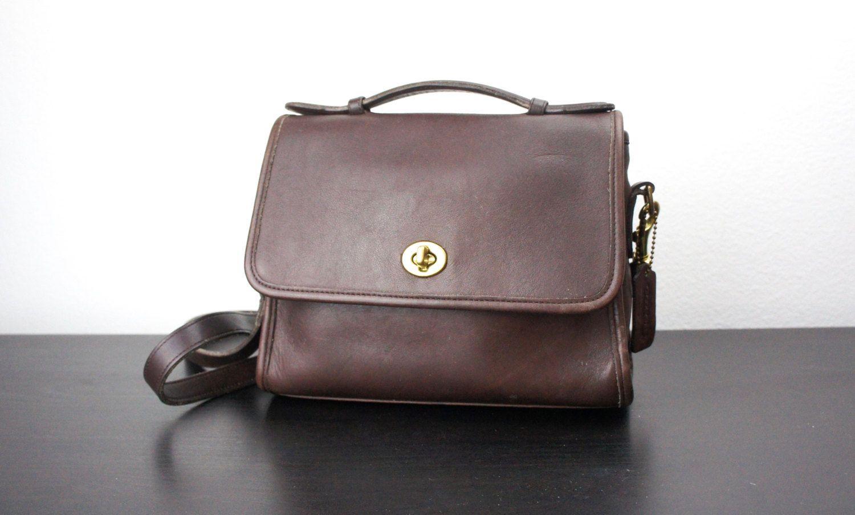 Vintage Coach Court Bag 1bfbaaba065b3