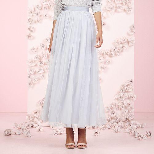0d2754f07 LC Lauren Conrad Runway Collection Tulle Maxi Skirt - Women's ...