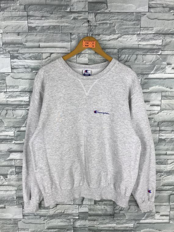 8df63f63 Vintage CHAMPION Jumper Sweatshirts Large 80's Champion Usa Sportswear  Champion Clothing Crewneck Gr