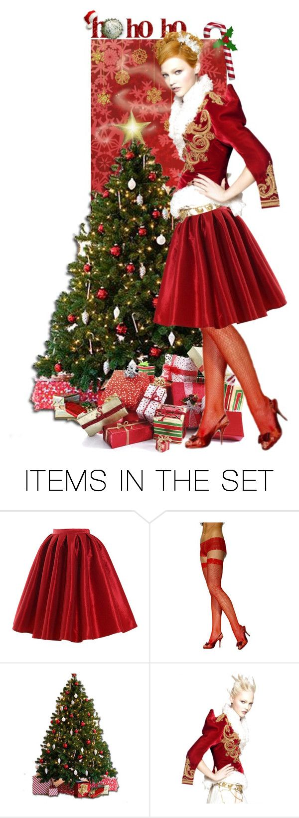 """Candy Cane"" by kamkami ❤ liked on Polyvore featuring arte"