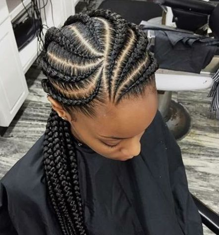 Ghana Braids Hairstyles 7 Awesome African American Braided Hairstyles  Ghana Braids Ghana