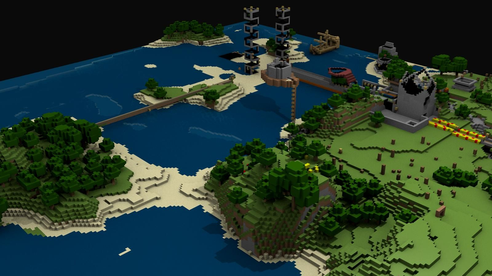 Minecraft Hd Wallpapers And