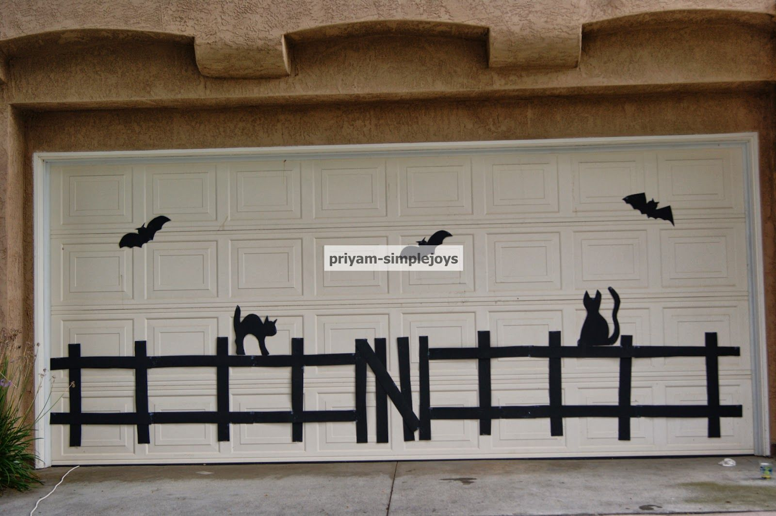 Halloween Garage Door Halloween garage door and Halloween garage - Halloween Garage Door Decorations