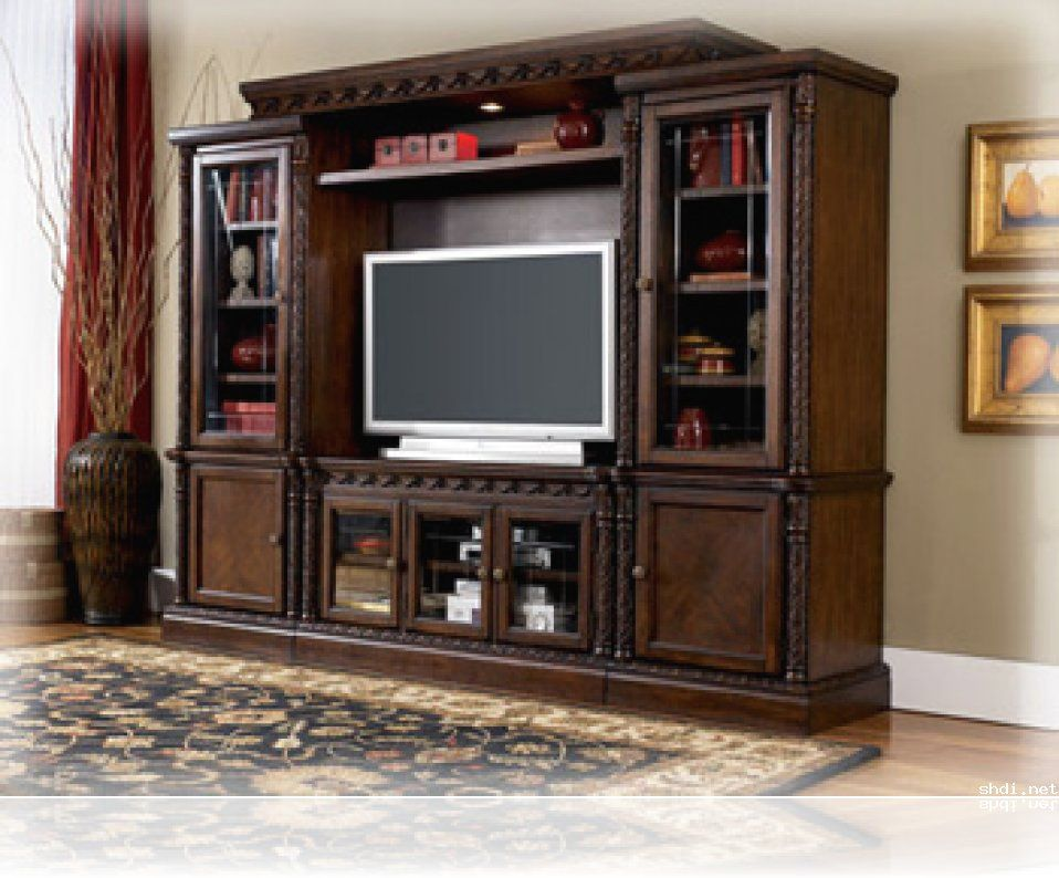 Tv lcd furniture tv units lcd unit furniture tv - Living room showcase designs images ...
