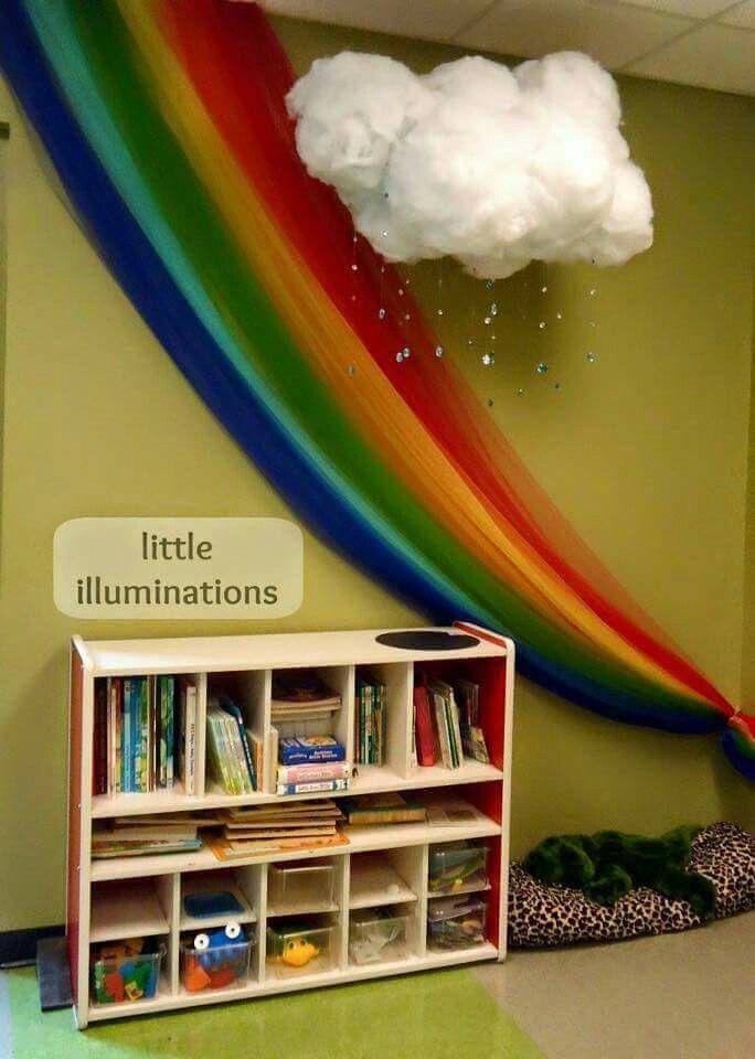 Rincón de lectura Childrenu0027s ministry Pinterest Rainbow fish