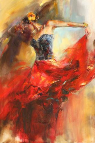 She Dances In Beauty 1 by Anna Razumovskay