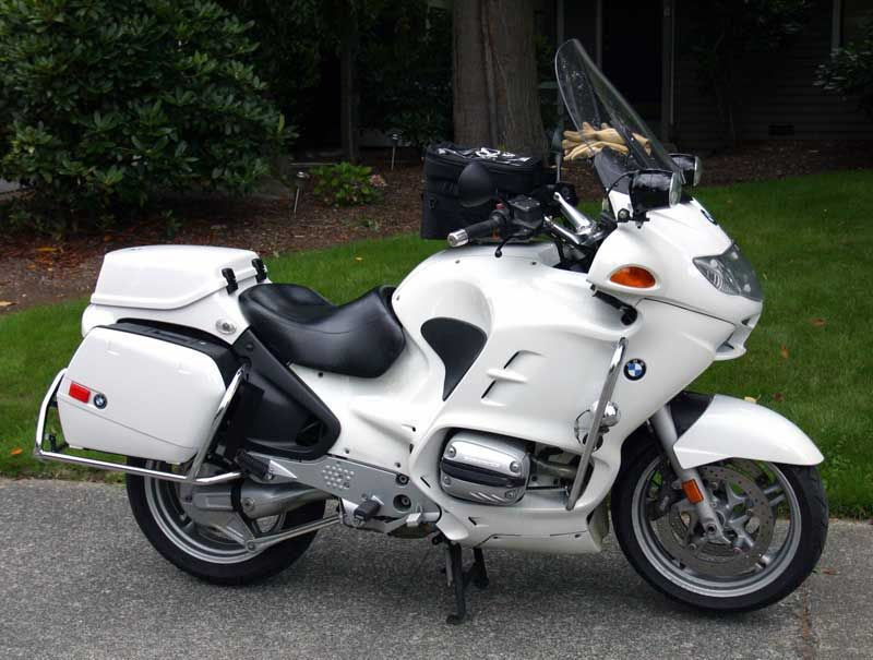 Bmw R1150rt P Mine Has More Police Lights And Faux Sherrif Markings