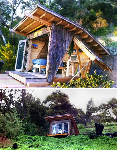 Tiny Home Designs: LIving Untethered: 14 Beautiful Off-Grid Cabins & Cottages