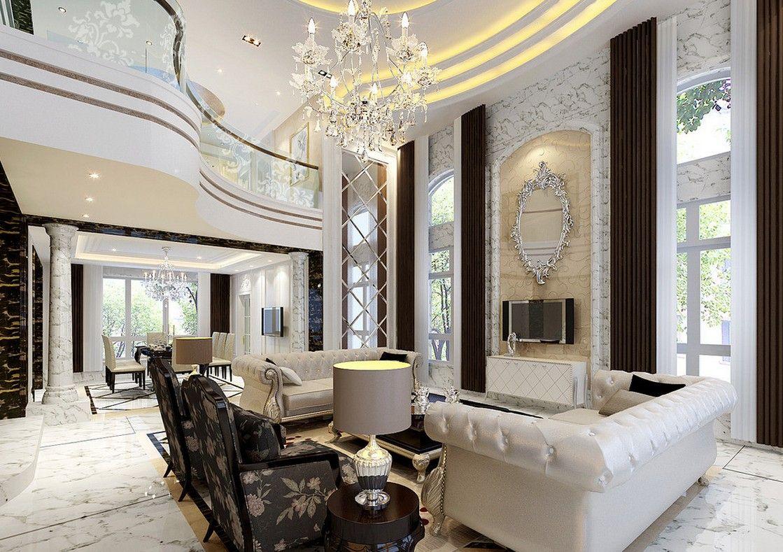 Luxury Villas Interior Design Alluring Minimalist Villa Interior ...