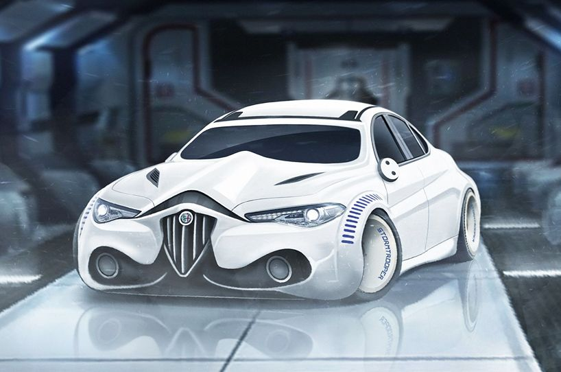 Carwow Has Envisioned Eight Concept Vehicles Fit For Film Franchise Star Wars Most Loved And D Characters