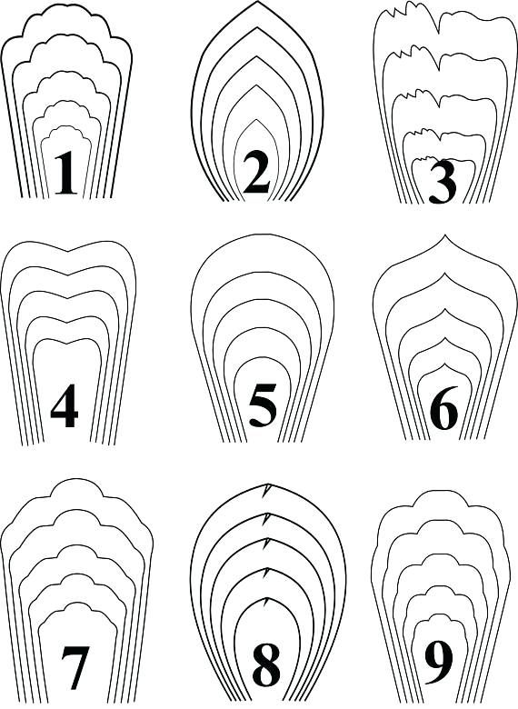 paper rose template printable paper flower templates
