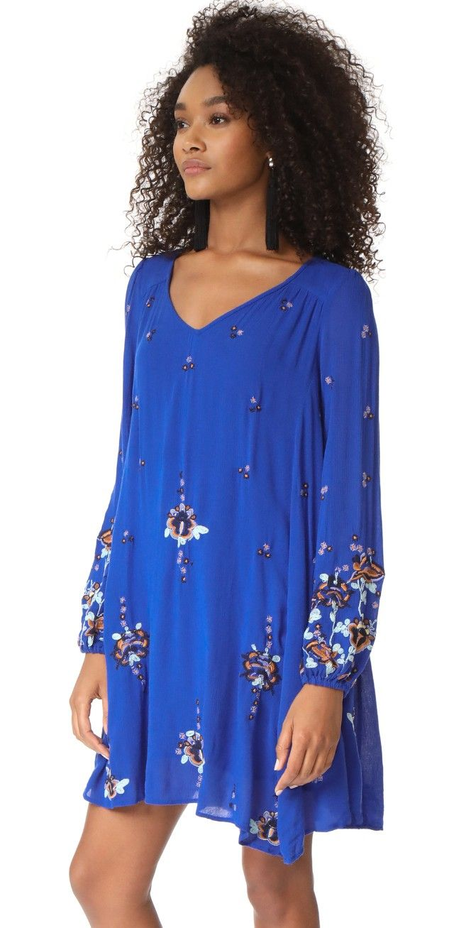 f40b9b5bbc27 Oxford Embroidered Mini Dress | My Style Clothing | Dresses, Cobalt ...