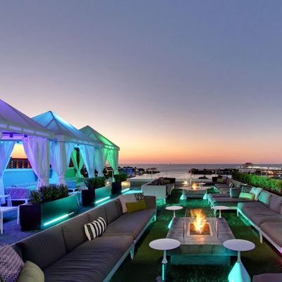 The Best Rooftop Bars On The Coast Best Of Summer