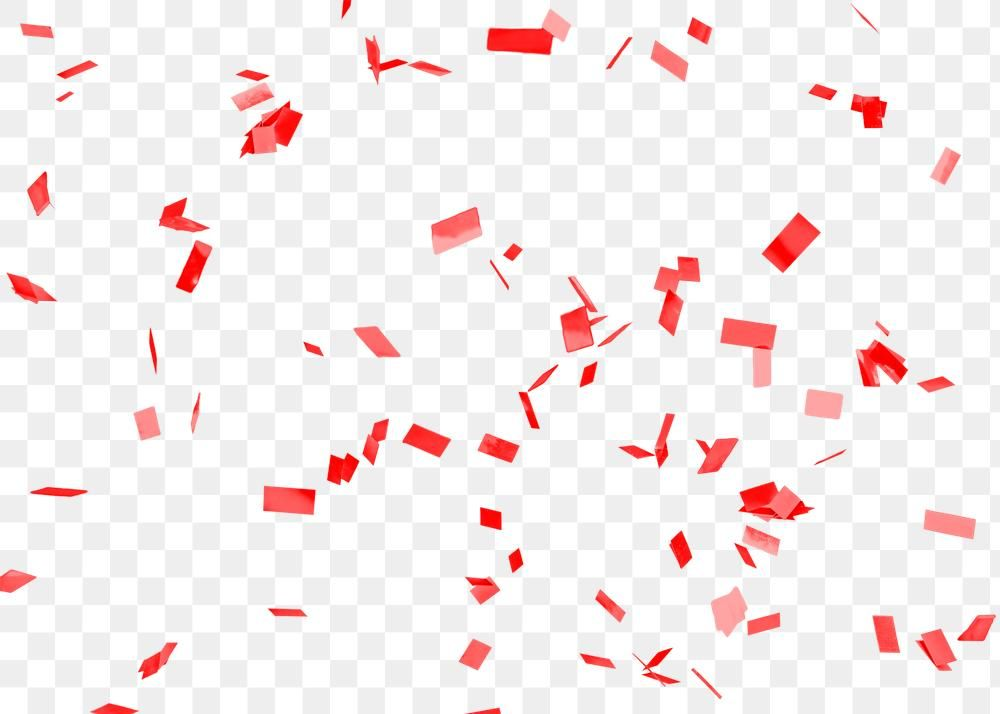 Red Confetti Patterned Background Design Element Free Image By Rawpixel Com Jingpixar Background Design Background Patterns Design Element