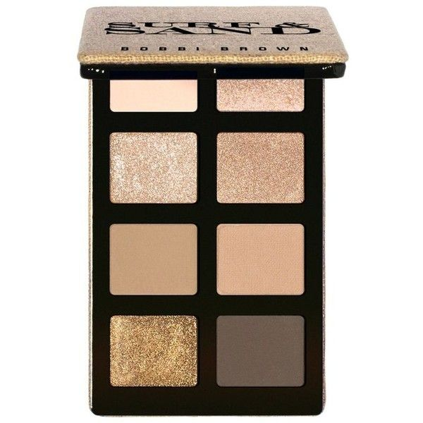 Bobbi Brown New 'Surf + Sand' Eyeshadow Palette | Makeup | Pinterest ❤ liked on Polyvore featuring beauty products, makeup, eye makeup, eyeshadow, palette eyeshadow and bobbi brown cosmetics