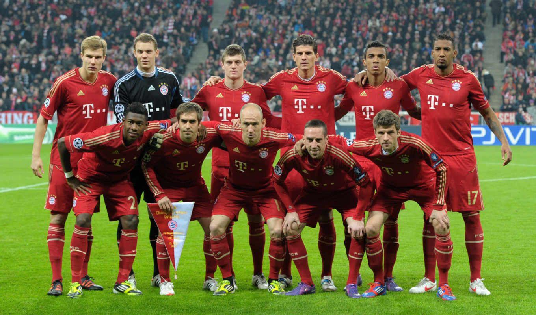 Футбол команда бавария мунхен