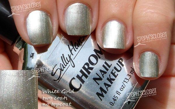 Sally Hansen White Gold Nail Polish