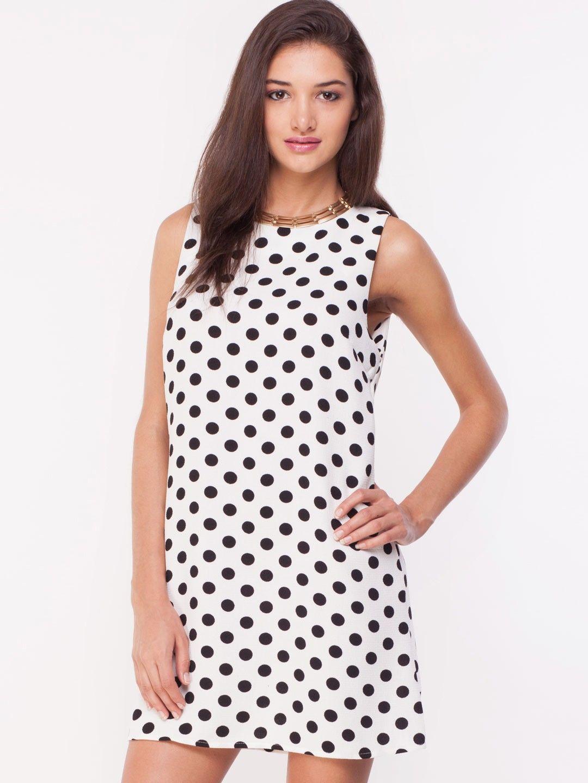 852d8e72eb GLAMOROUS Polka Dot Shift Dress - Buy Women's Shift Dresses online in India  | KOOVS