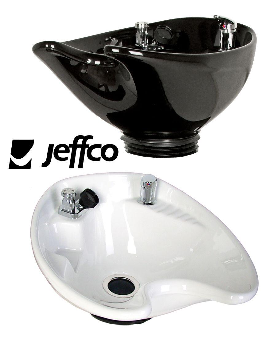 8200 Round Porcelain Tilting Shampoo Bowl w/ 570 single handle ...