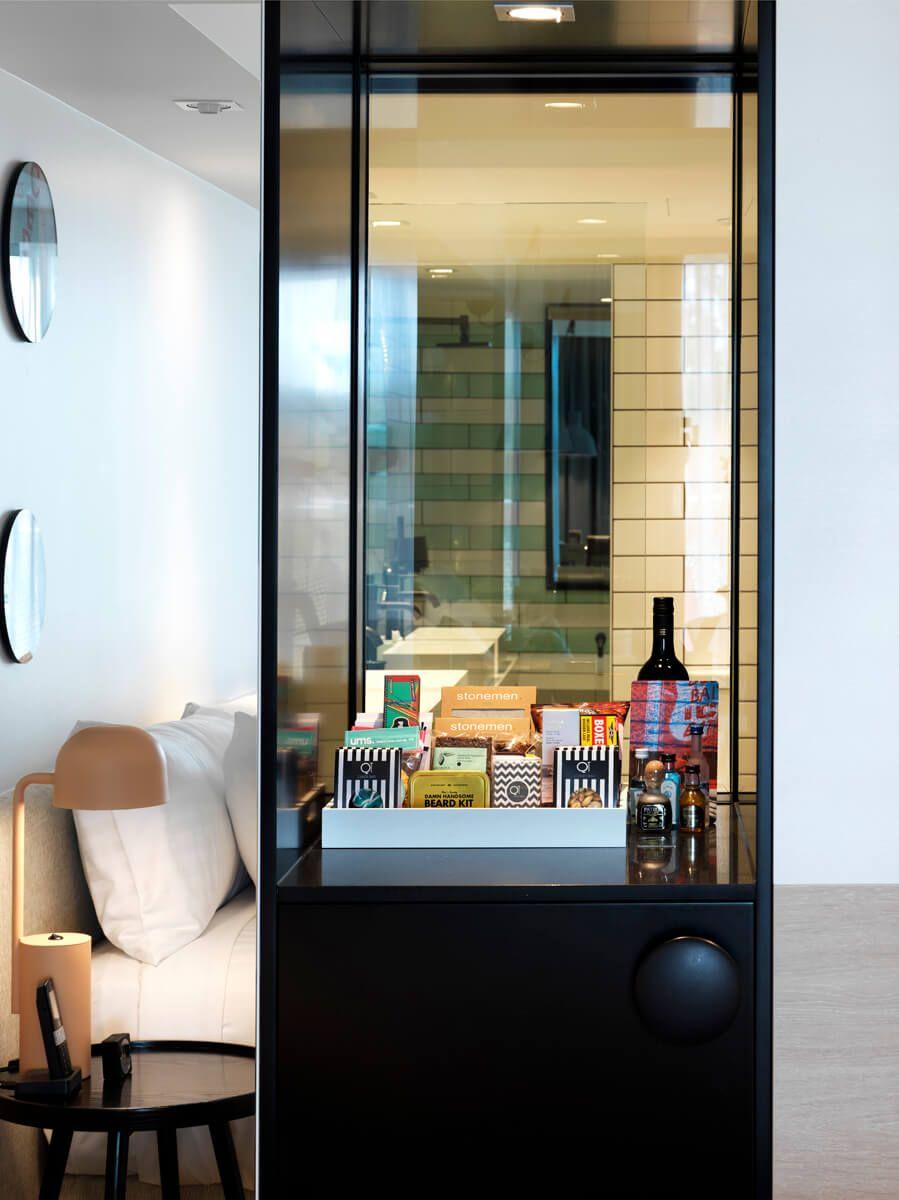 qt hotel room minibar joinery - Google Search   Minibar ideas ...