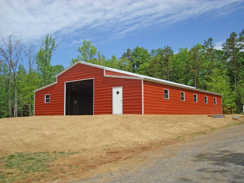 metal barns and garages Metal Barns Metal farm