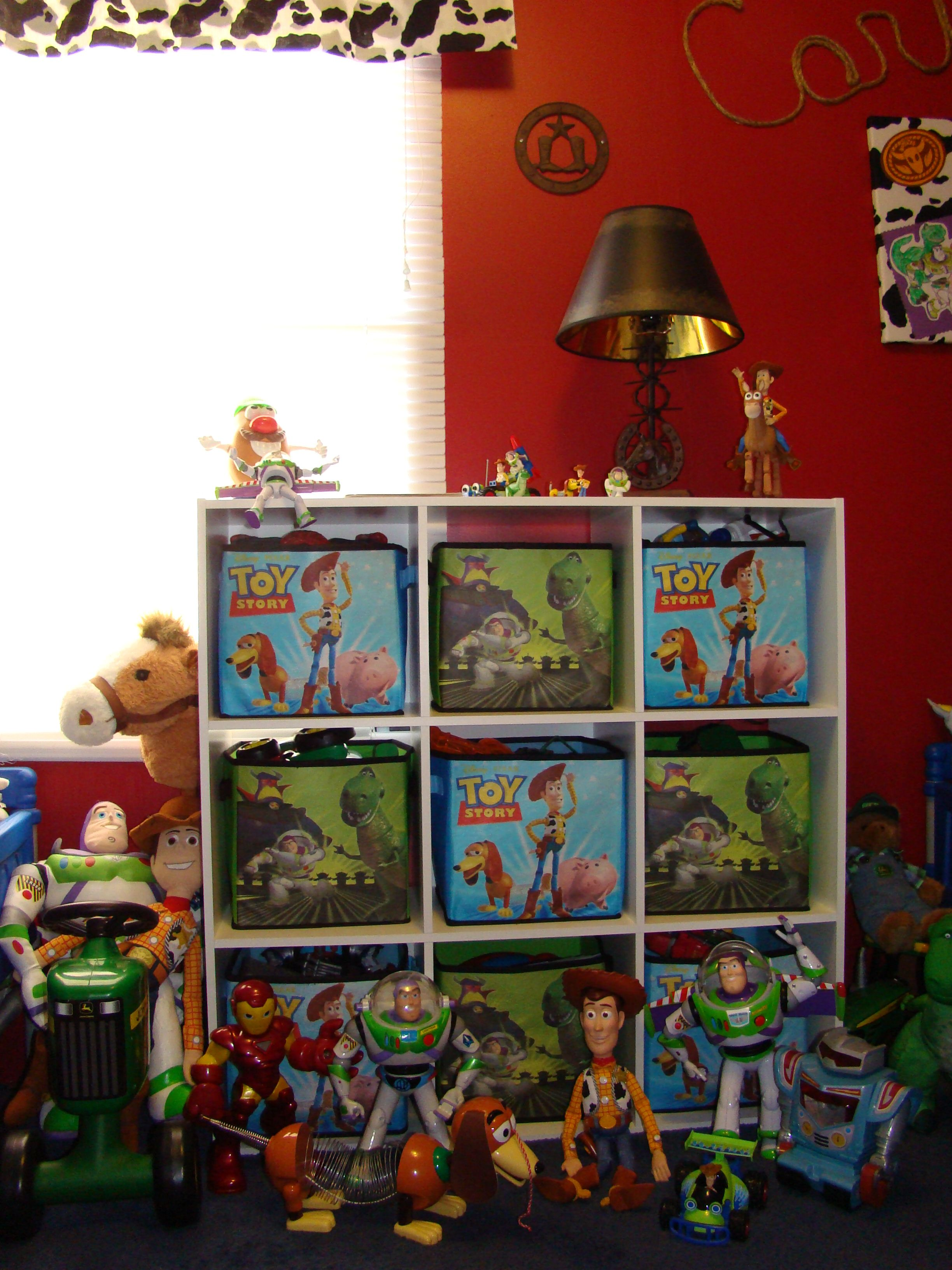Toy Story Room Like The Cubbies And Toy Story Baskets Toy Story Bedroom Toy Story Room Toy Story Nursery