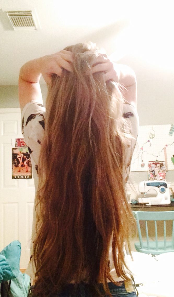 how to have a very long hair