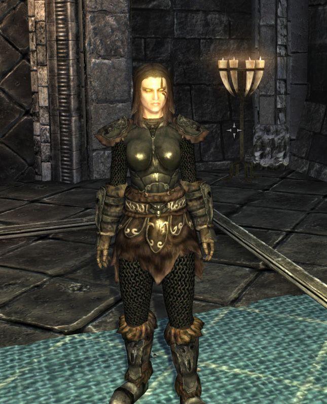 female wolf armor | Skyrim | Skyrim, Wolf, Elder scrolls