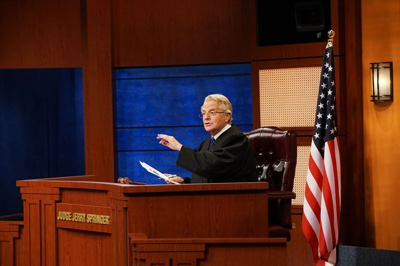 Judge Jerry Syndicated Court Series To Launch In Fall 2019 With Jerry Springer With Images Jerry Springer Judge Judge Judy