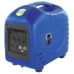 Hyundai 2200W 3.8HP CA-OK Inverter (00870350020016) Inverter Generator 2000W. Hyundai Inverter Generator 2200W Peak, 2000W running, 3.8HP, manual recoil, 5.5 hrs. quiet noise levels, control panel w/clear labeling of all components, environmentally friendly.