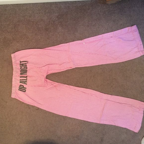 PINK by VS Pajama pants Cute and comfy PINK pajama pants. In great condition!! PINK Victoria's Secret Intimates & Sleepwear Pajamas