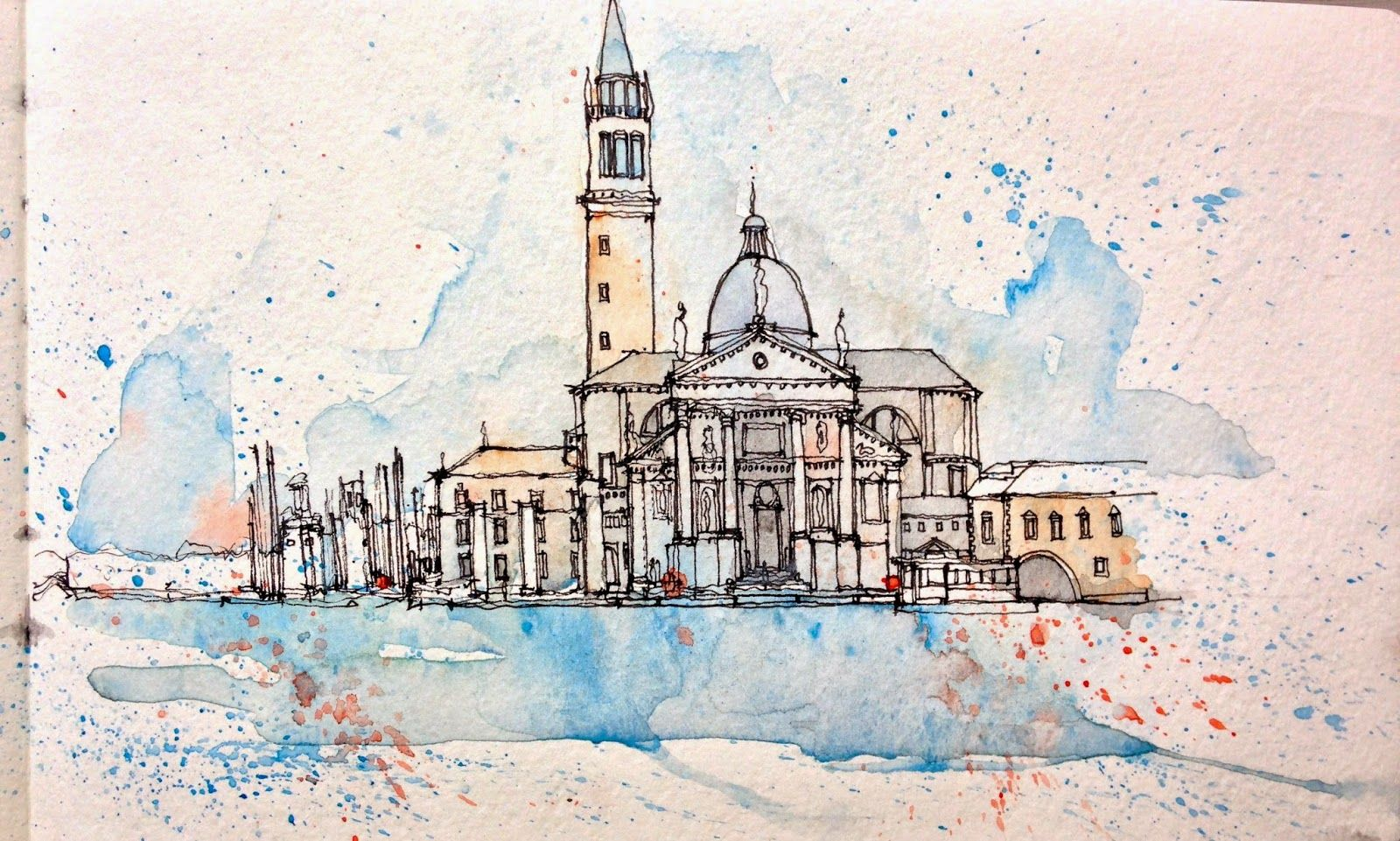 Urban Sketchers: Urban Sketching in Venice