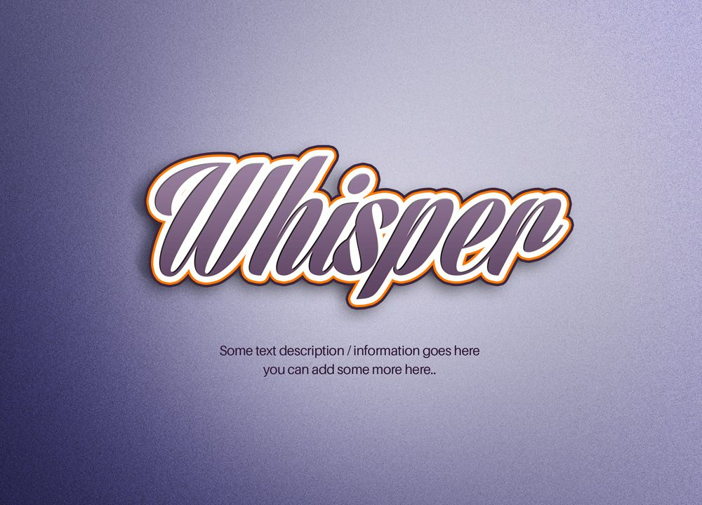 Multi Border Text Effect text effects, Stylish