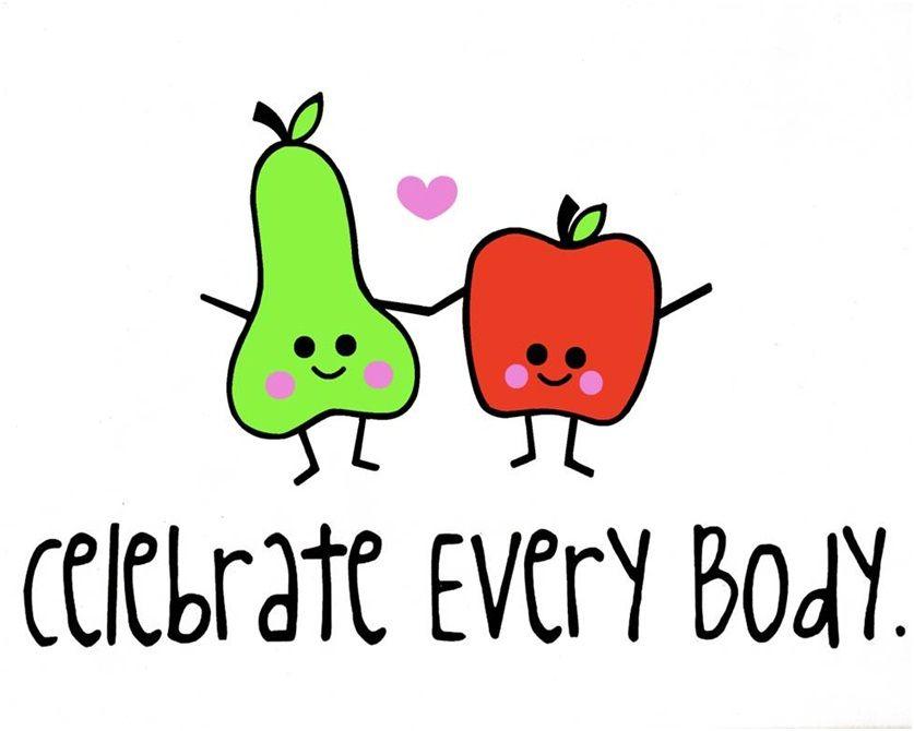 Celebrate Every Body Week   Body positivity, Positive body image ...