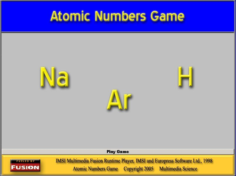Chemistry Teachers - Android Periodic Table Guessing Game Now - fresh chemistry periodic table atomic numbers