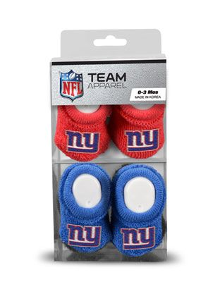 18809eb1 New York Giants Newborn Baby Booties #giants #nygiants #nfl | Baby ...