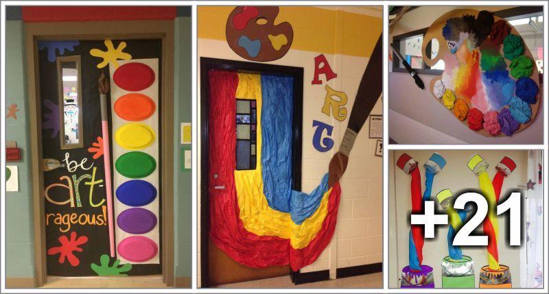 Art Class Decoration Ideas Preschool Aluno On Decoracao Sala