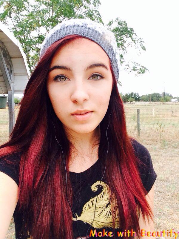Manic Panic Infra Red Used One Light Medium Brown Hair