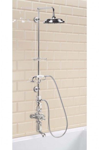 Burlington Claremont Avon Exposed Thermostatic Shower