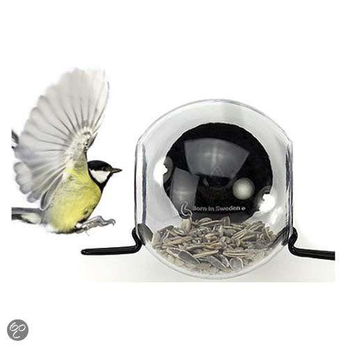 Birdfeeder raamvoederhuisje