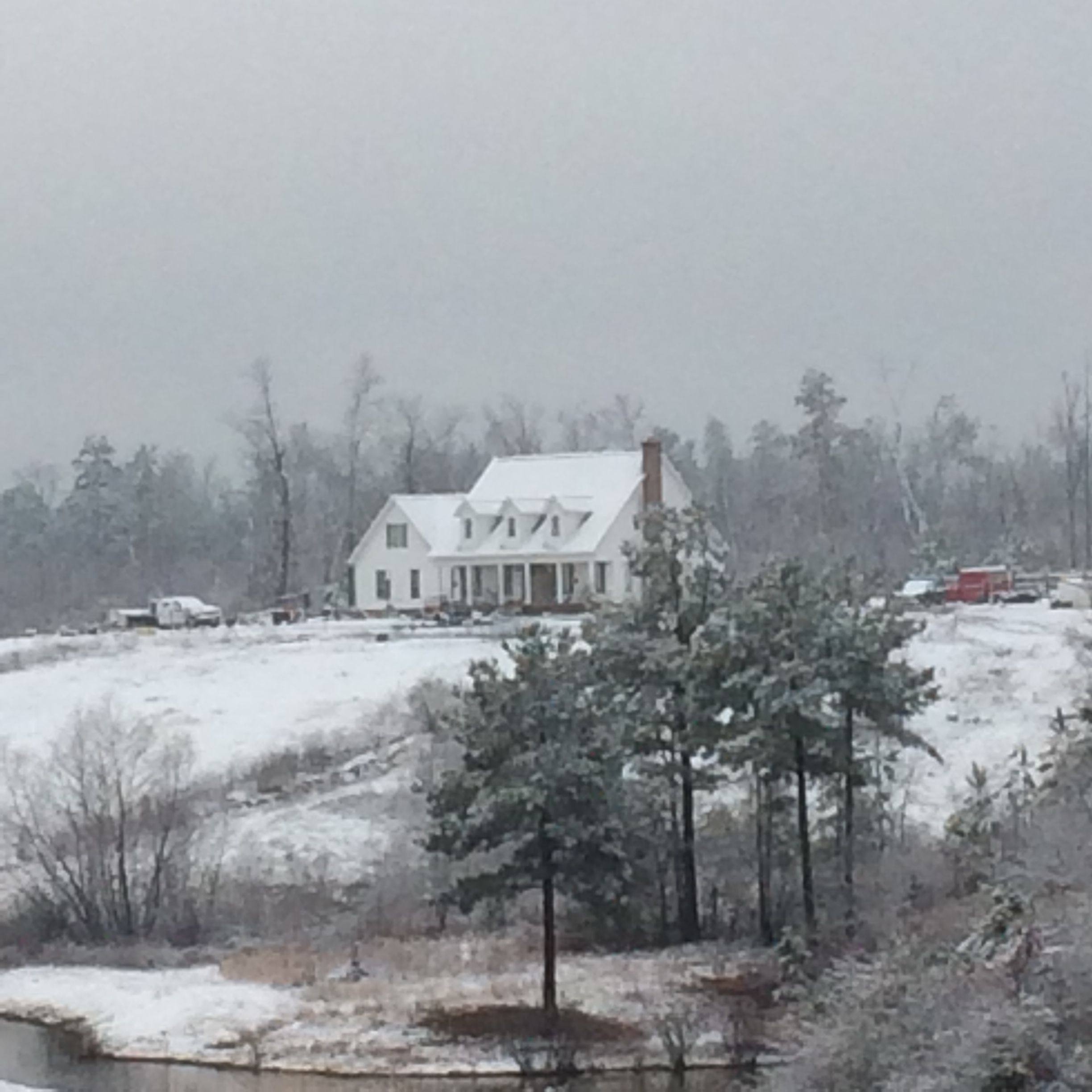Another picture of our Alabama snow!