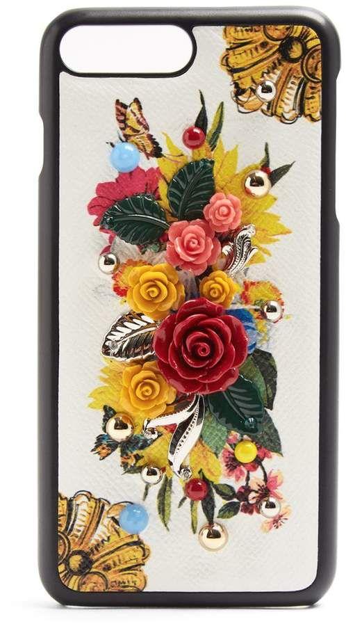 Dolce & Gabbana Majolique-print Iphone 7 Plus Le Cas Acheter Pour Pas Cher En Ligne De Haute Qualité En Ligne Nouvelle Remise Obtenir La Dernière Mode yWyDD8A08b