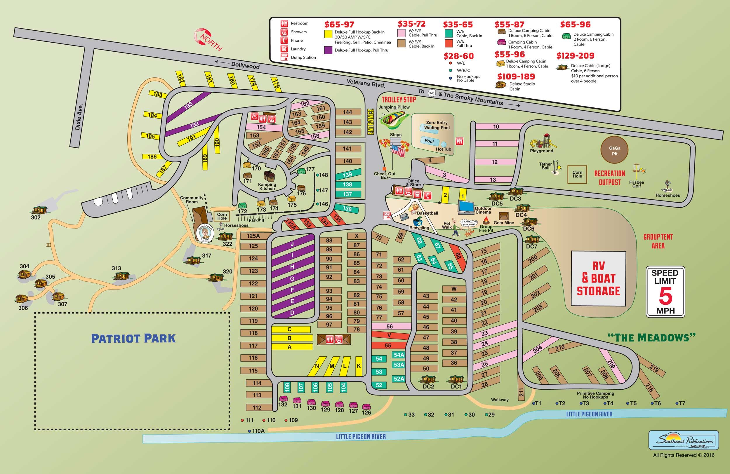 Campground Site Map Rv Camping Rv Camping Locations