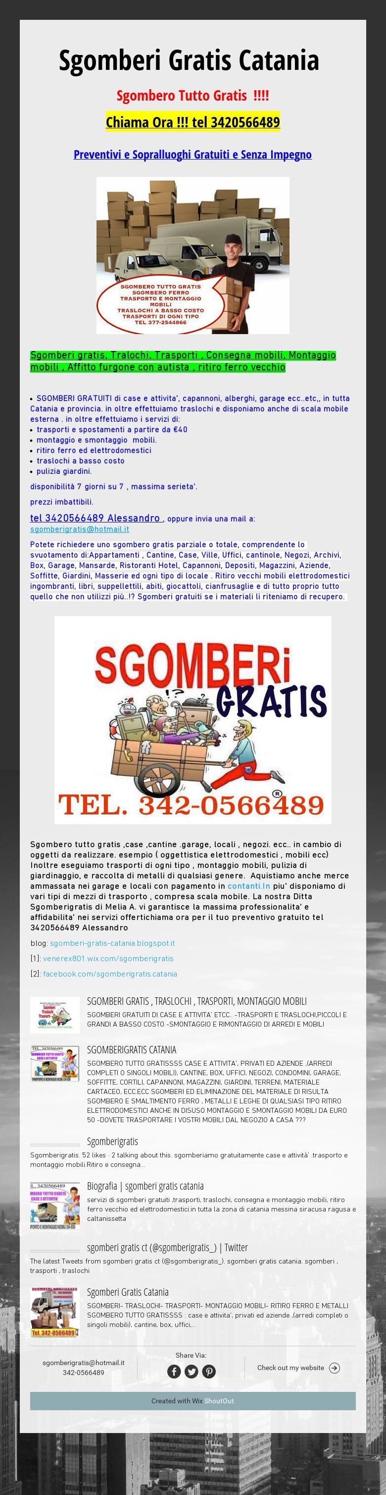 Raccolta Ferro Vecchio Catania sgomberi gratis catania sgombero tutto gratis !!!! chiama