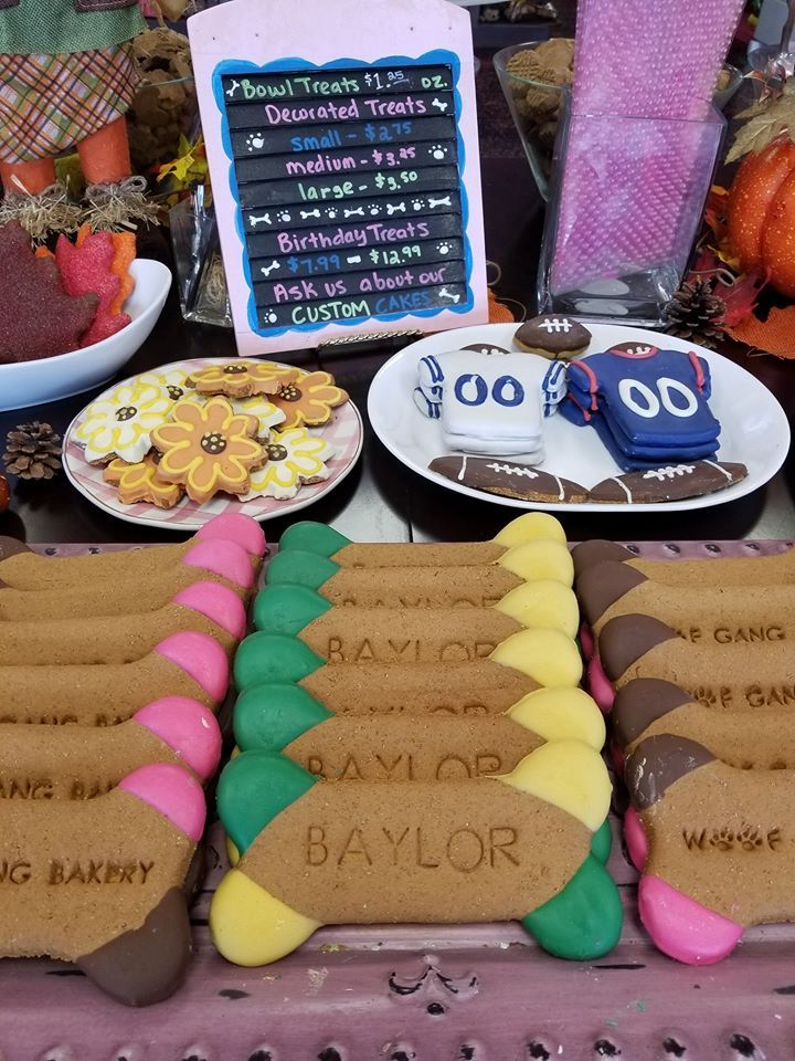 Show your school pride with these Baylor cookies from WGB