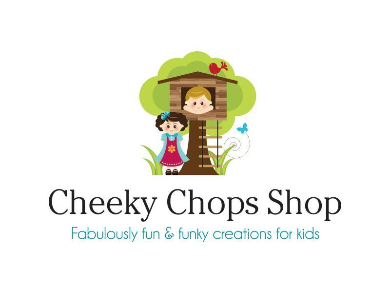 Boutique By Design Portfolio - Logo Design - Cheeky Chops Children's Clothing
