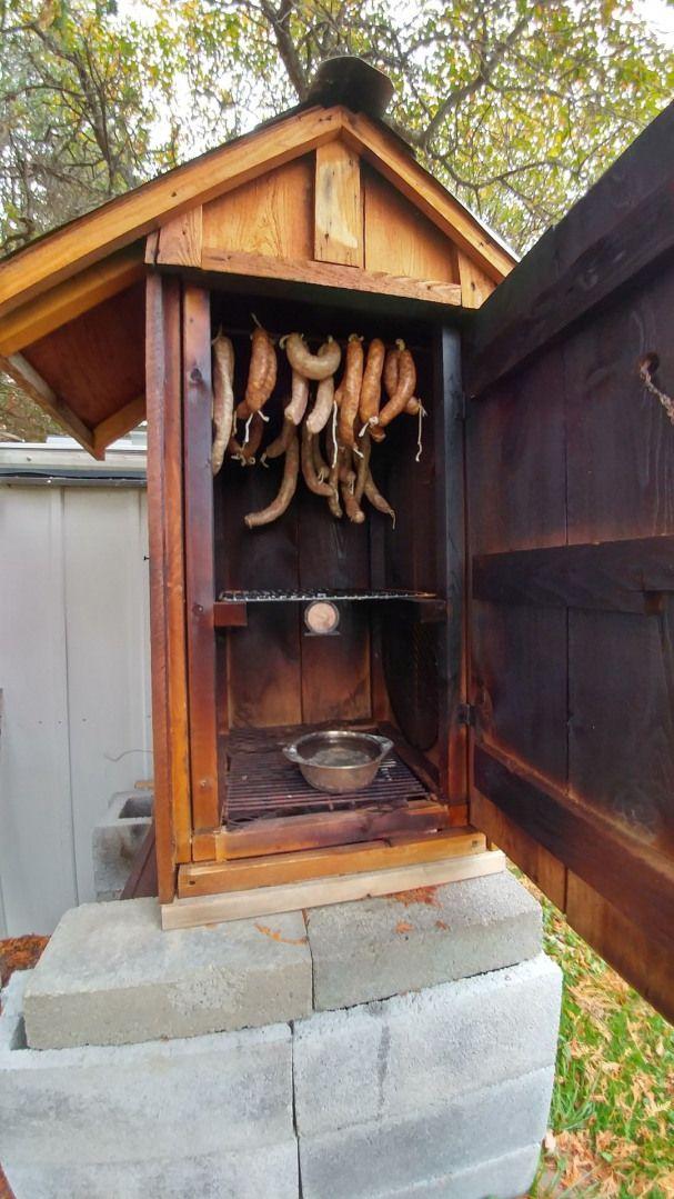 #outdoorwood | Homemade smoker, Backyard smokers, Diy smoker