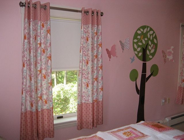 Kids Bedroom Curtains Brilliant Pinkbedroomcurtainsforkids  Bedroom Window Treatments Decorating Design