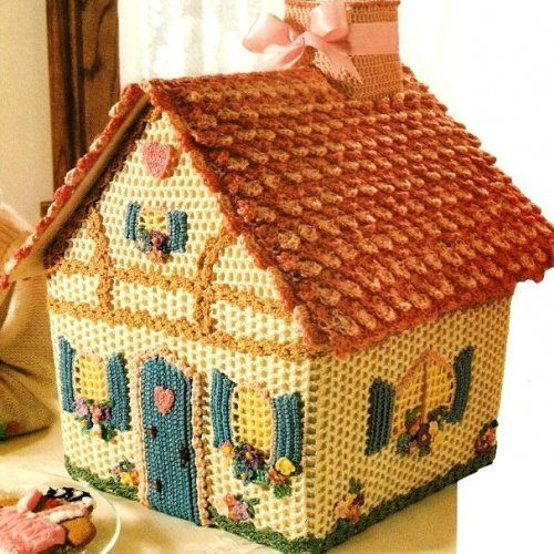 Crochet Gingerbread House Pattern available
